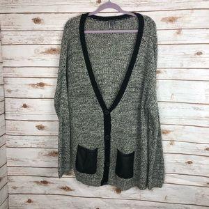 UO Silence & Noise Oversize Knit Cardigan